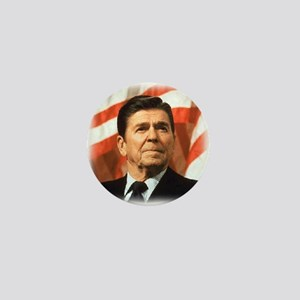 Ronald Reagan: Image only Mini Button
