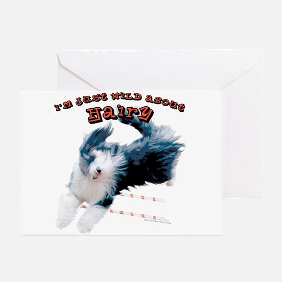 Wild about HAIRY Greeting Cards (Pk of 10)