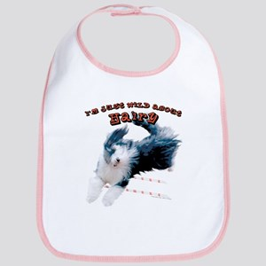 Wild about HAIRY Bib