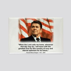 Ronald Reagan: When the Lord Rectangle Magnet