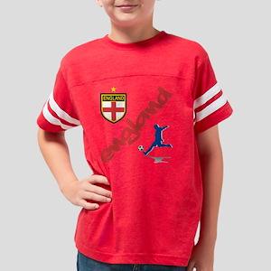 3-england Youth Football Shirt