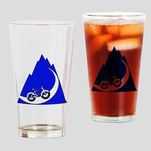 Fat Bike mountain Drinking Glass