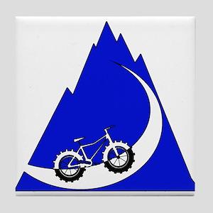 Fat Bike mountain Tile Coaster