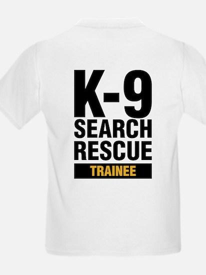 K-9 SAR Trainee Kids T-Shirt