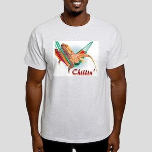 Bearded Dragon Chillin Ash Grey T-Shirt