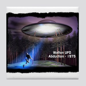 Walton UFO Abduction - 1975 Tile Coaster