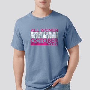 All Women Are Created Eq Mens Comfort Colors Shirt