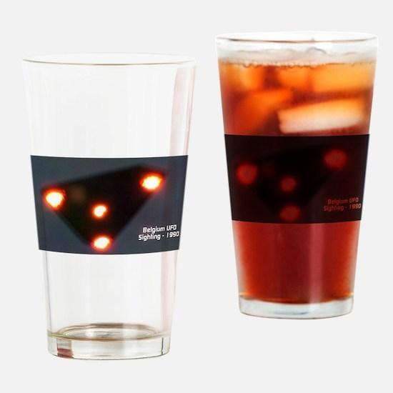 Belgium UFO Wave - 1989-1990 Drinking Glass