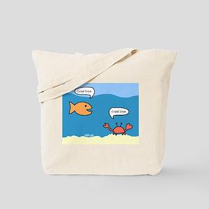 Crabe Diem Tote Bag