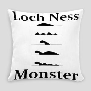 Loch Ness Monster Everyday Pillow