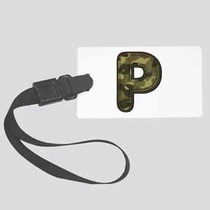 P Army Large Luggage Tag