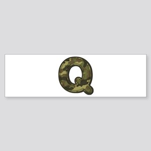 Q Army Bumper Sticker