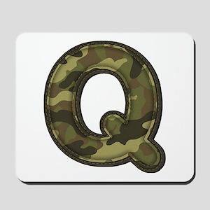 Q Army Mousepad