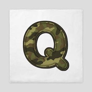 Q Army Queen Duvet