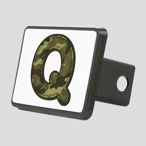 Q Army Rectangular Hitch Cover