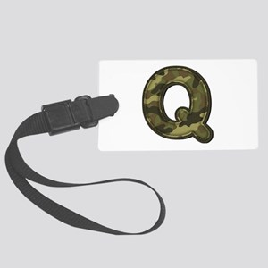 Q Army Large Luggage Tag