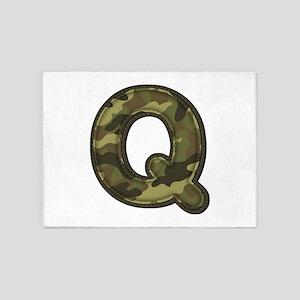 Q Army 5'x7' Area Rug
