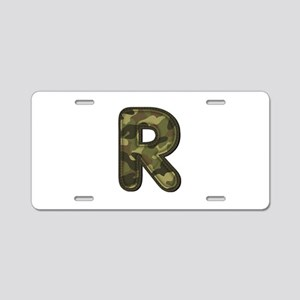 R Army Aluminum License Plate