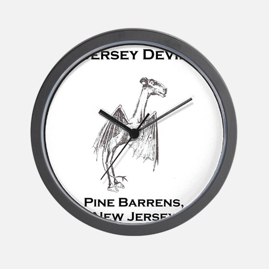Jersey Devil Pine Barrens New Jersey Wall Clock