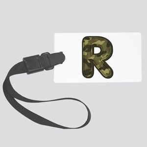 R Army Large Luggage Tag