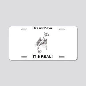 Jersey Devil Its Real Aluminum License Plate