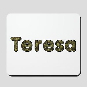 Teresa Army Mousepad