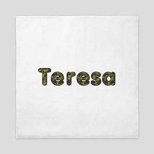 Teresa Army Queen Duvet