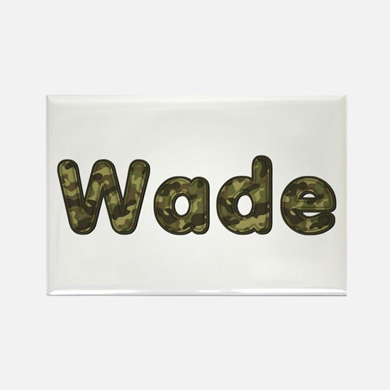 Wade Army Rectangle Magnet