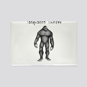 Sasquatch Hunter Magnets