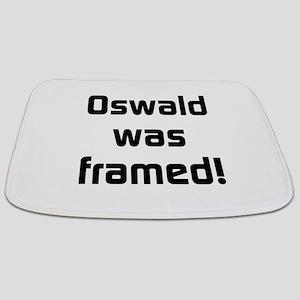 Oswald Was Framed Bathmat