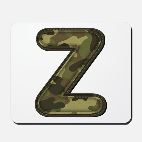 Z Army Mousepad