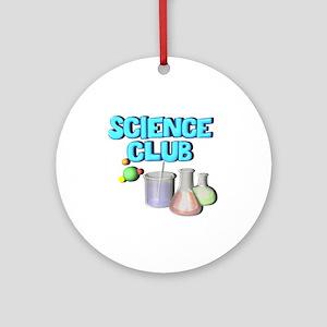 Science Club Ornament (Round)