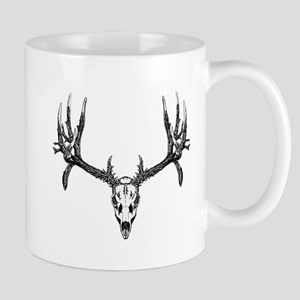 Drop tine buck skull Mug
