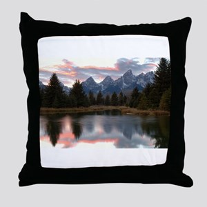 Schwabachers Landing Sunset 4 Throw Pillow