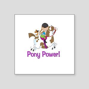 Pony Power! Sticker