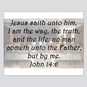 John 14:6 Posters
