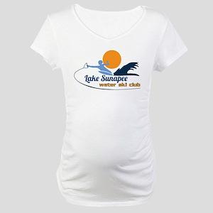 Lake Sunapee Water Ski Club Maternity T-Shirt