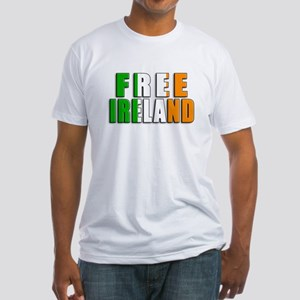 Free Ireland Fitted T-Shirt