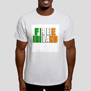 Free Ireland Ash Grey T-Shirt