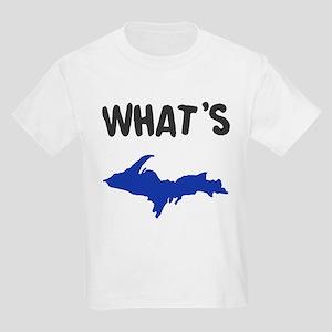 UP Upper Peninsula Michigan Kids Light T-Shirt