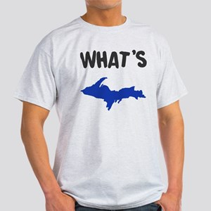 UP Upper Peninsula Michigan Light T-Shirt