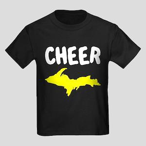 UP Upper Peninsula Michigan Kids Dark T-Shirt