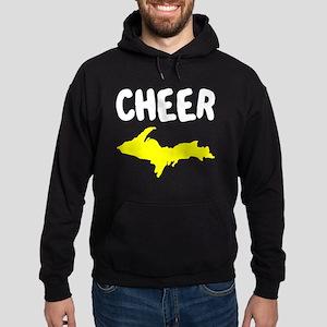 UP Upper Peninsula Michigan Hoodie (dark)