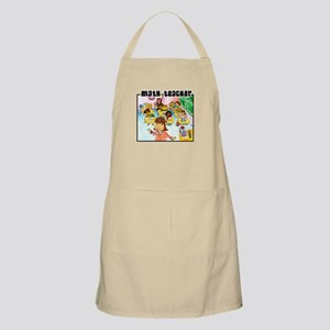Female Math Teacher Apron