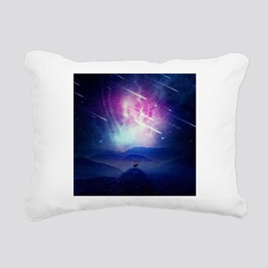 Cosmic Guardian Rectangular Canvas Pillow