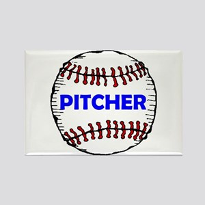 PITCHER Rectangle Magnet