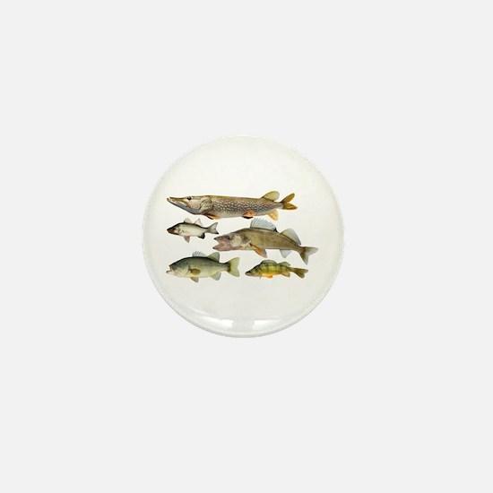 All fish Mini Button