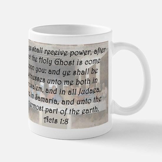 Acts 1:8 Mug