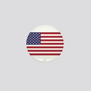 American Flag Mini Button