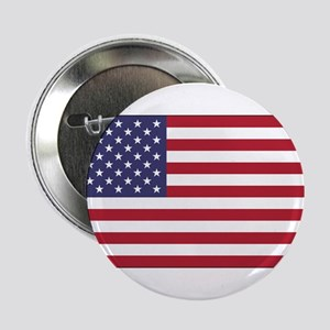 "American Flag 2.25"" Button"